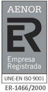Certificado AENOR Empresa Registrada.